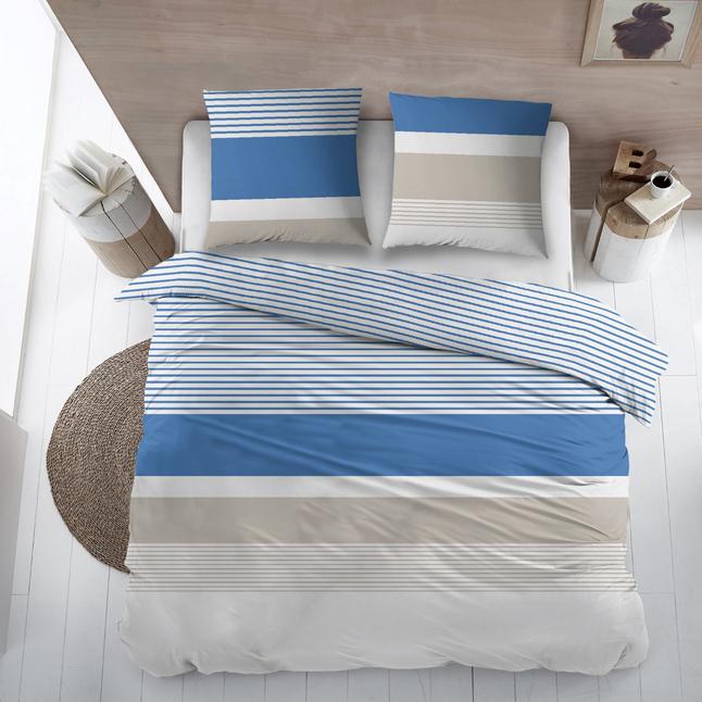 Image pour Housse de couette Sevilla coton blue 240 x 220 cm à partir de ColliShop