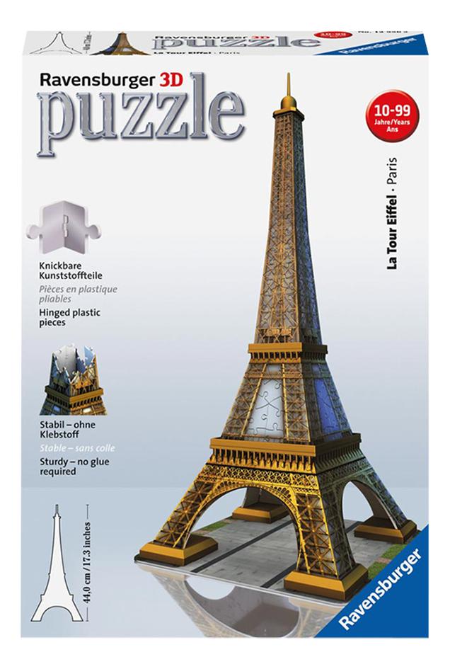 Afbeelding van Ravensburger 3D-puzzel Eiffeltoren from ColliShop