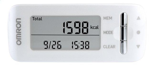 Image pour Omron Compteur de calories/podomètre CaloriScan HJA-306 blanc à partir de ColliShop