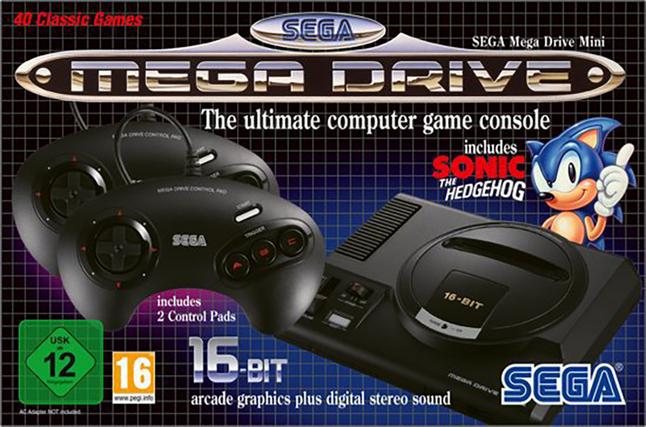 SEGA console Mega Drive Mini