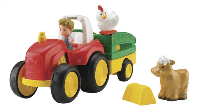 Afbeelding van Fisher-Price Little People tractor Tow 'n Pull from ColliShop