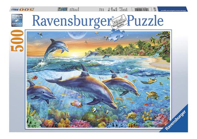 Afbeelding van Ravensburger puzzel Dolfijnenbaai from ColliShop