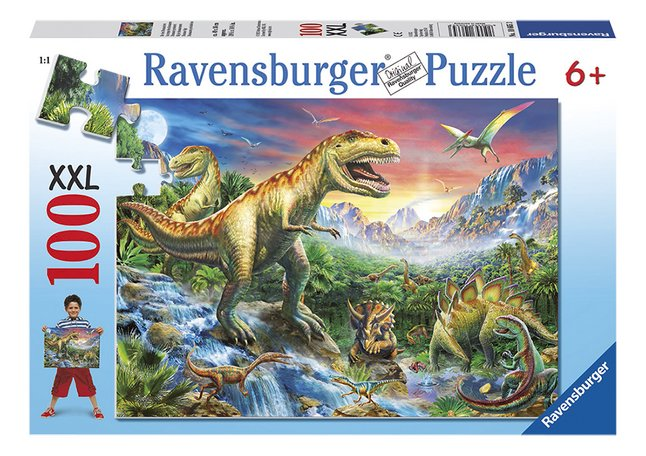 Image pour Ravensburger puzzle XXL Dinosaures à partir de ColliShop