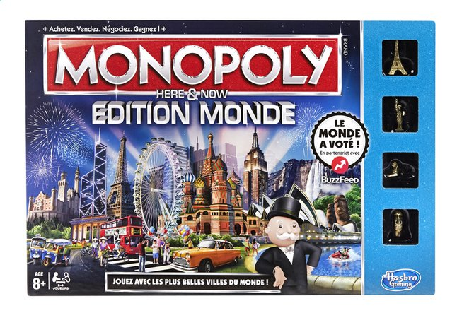 Afbeelding van Monopoly Édition Monde FR from ColliShop