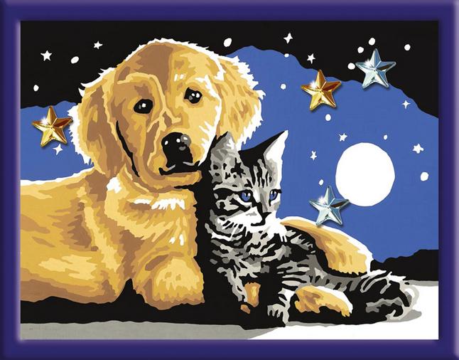 Image pour Ravensburger Numéro d'Art Nuit étoilée à partir de ColliShop