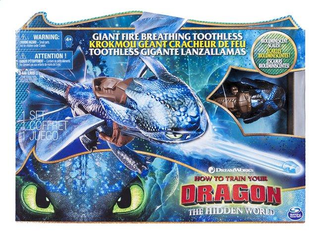 Image pour Figurine Dragons 3 Krokmou Géant Cracheur de Feu à partir de ColliShop