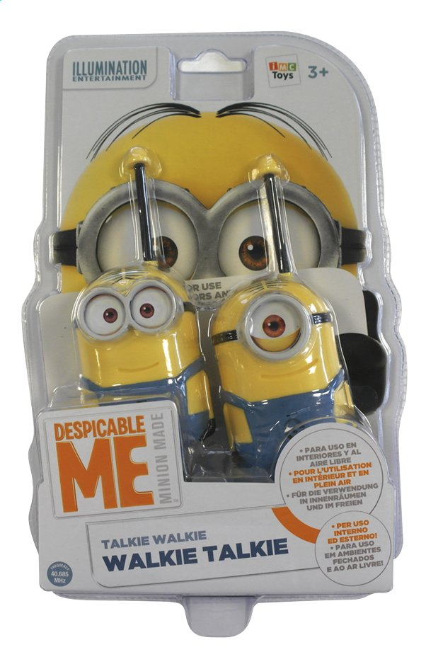 Image pour Talkies-walkies Minions à partir de ColliShop
