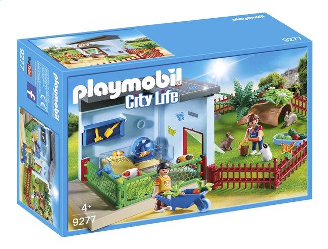 PLAYMOBIL City Life 9277 Maisonnette des rongeurs et lapins