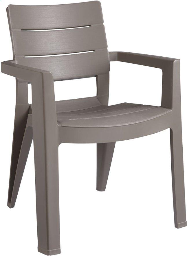 Allibert chaise de jardin Ibiza gris graphite Pas Cher à ...