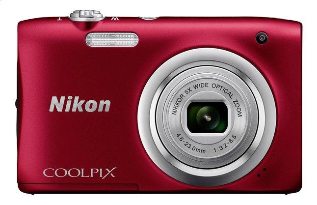 Afbeelding van Nikon Digitaal fototoestel Coolpix A100 rood from ColliShop
