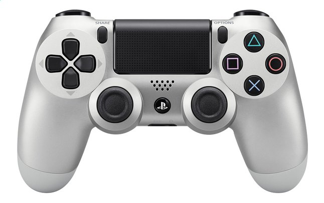 Afbeelding van PS4 wireless controller Silver from ColliShop