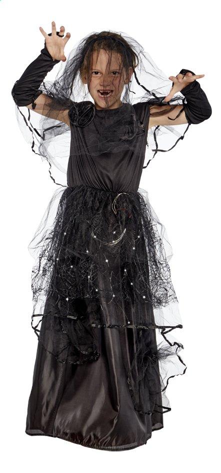 Afbeelding van Verkleedpak Gothic Bride met lichtjes maat 128 from ColliShop