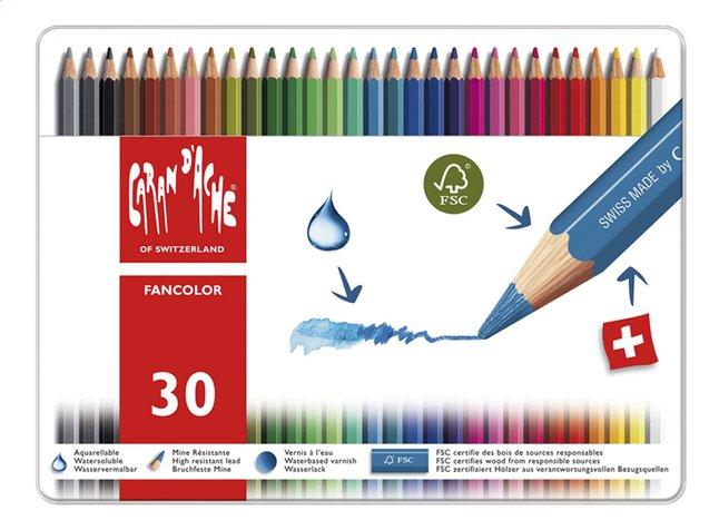 Afbeelding van Caran d'Ache kleurpotlood Fancolor - 30 stuks from ColliShop