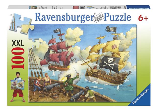 Afbeelding van Ravensburger puzzel Piratenslag from ColliShop
