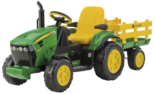Afbeelding van Peg-Pérego elektrische tractor John Deere Ground Force from ColliShop