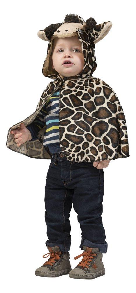 Verkleedpak Giraf cape Baby één maat