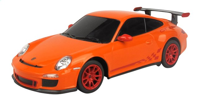 Image pour Rastar voiture RC Porsche GT3 RS orange à partir de ColliShop