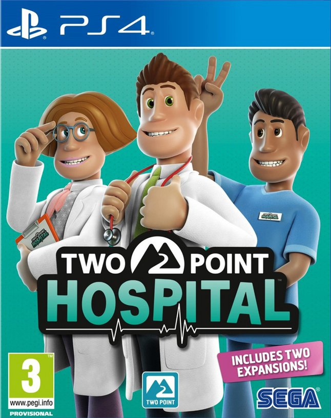 Afbeelding van PS4 Two Point Hospital ENG/FR from ColliShop