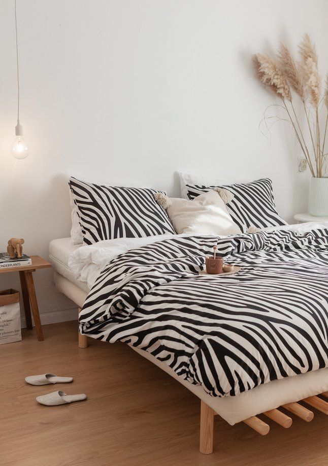 Image pour Ambianzz Housse de couette Zebra Skin coton à partir de ColliShop