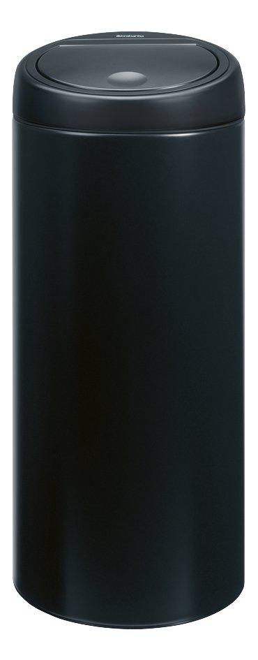 Image pour Brabantia poubelle Touch Bin 30 l noir mat à partir de ColliShop
