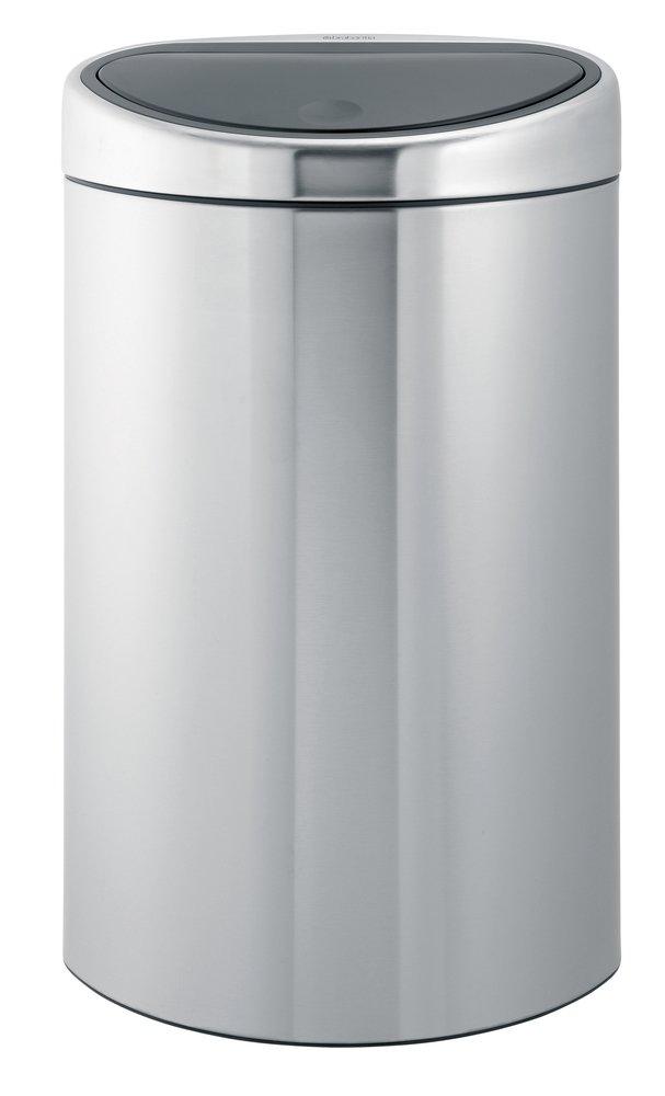 Image pour Brabantia poubelle Touch Bin 40 l FPP acier mat à partir de ColliShop