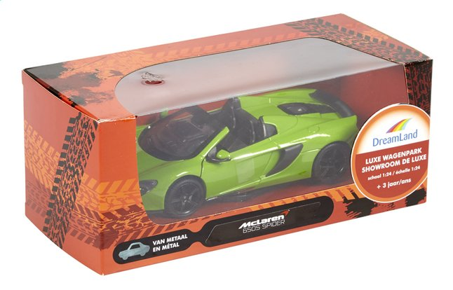 Image pour DreamLand voiture Showroom de luxe McLaren 650S Spider vert à partir de ColliShop