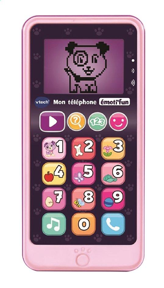 Image pour VTech Mon téléphone émoti'fun rose à partir de ColliShop