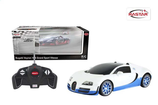 Afbeelding van Auto RC Bugatti Veyron wit from ColliShop
