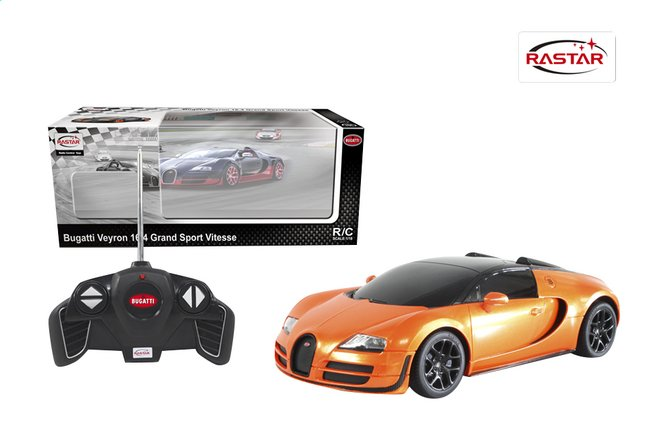Afbeelding van Auto RC Bugatti Veyron oranje from ColliShop