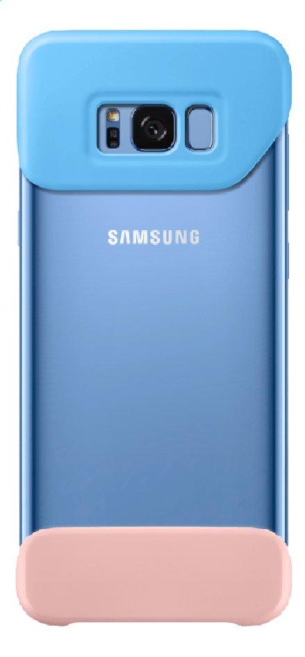 Image pour Samsung coque Galaxy S8+ bleu/rose à partir de ColliShop