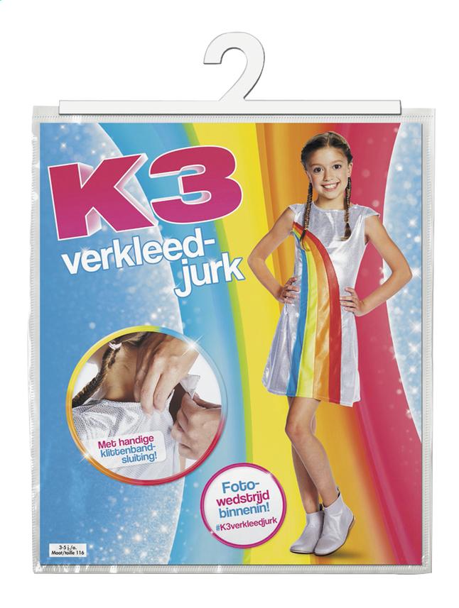 Image pour Déguisement K3 robe arc-en-ciel taille 134 à partir de ColliShop