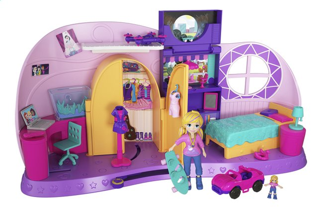 Afbeelding van Polly Pocket speelset Polly's Go tiny! from ColliShop