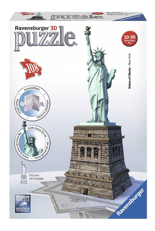 Image pour Ravensburger puzzle 3D La statue de la liberté à partir de ColliShop