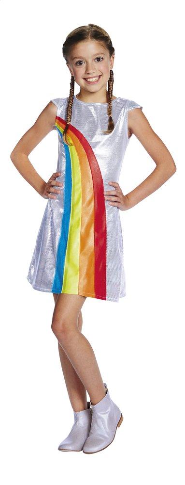 Image pour Déguisement K3 robe arc-en-ciel taille 152 à partir de ColliShop