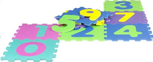 Image pour DreamLand Tapis-puzzle 10 pièces chiffres à partir de ColliShop