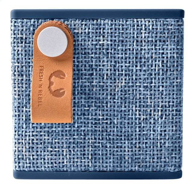 Afbeelding van Fresh 'n Rebel luidspreker bluetooth Rockbox Cube Fabriq Edition blauw from ColliShop