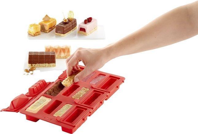 Image pour Lékué Moule 6 round mini log cakes à partir de ColliShop