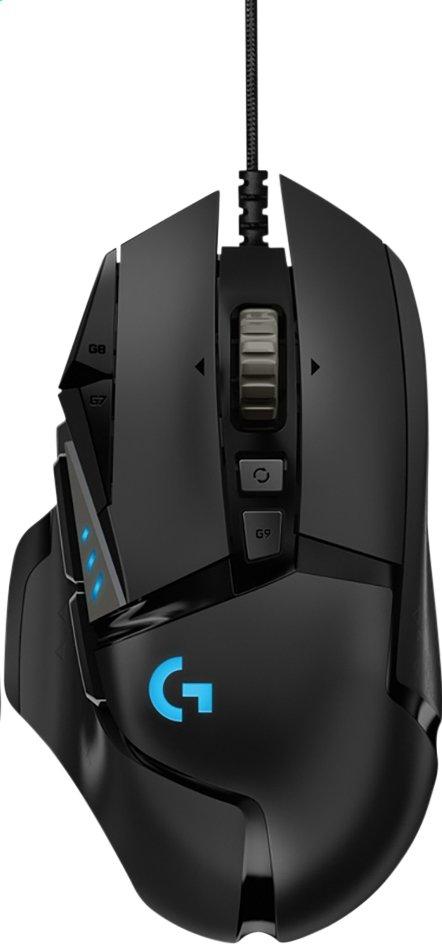 Afbeelding van Logitech gaming muis G502 HERO from ColliShop