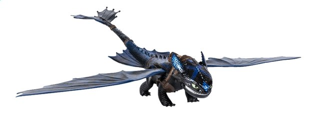 Figuur How to Train Your Dragon 3 Giant Fire Breathing Toothless
