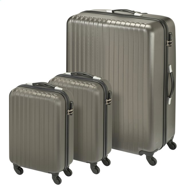 Princess Traveller set de valises rigides San Marino anthracite