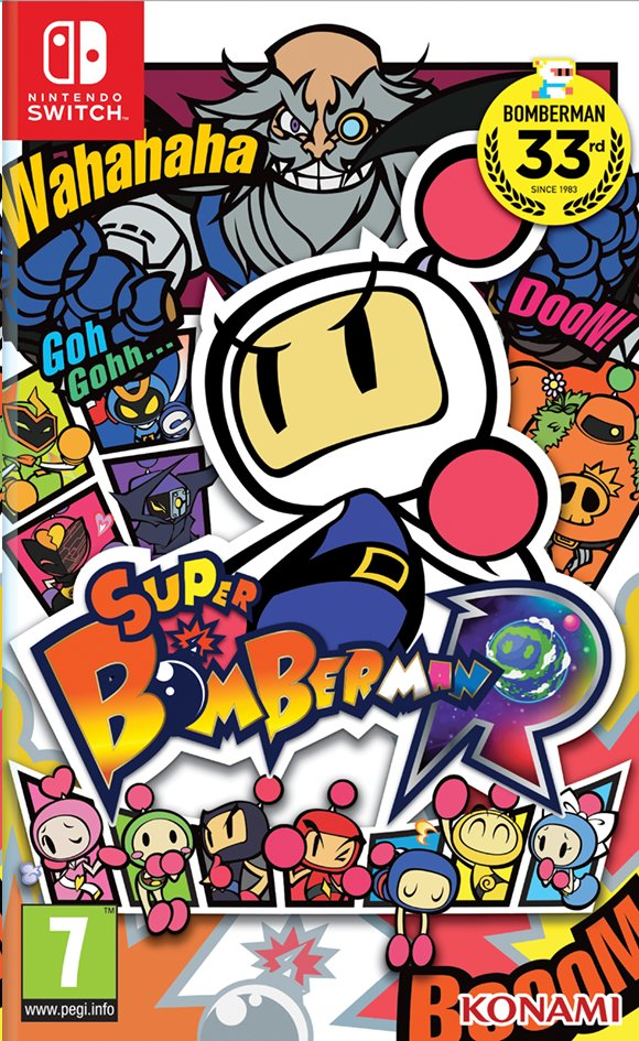 Image pour Nintendo Switch Super Bomberman R ANG à partir de ColliShop