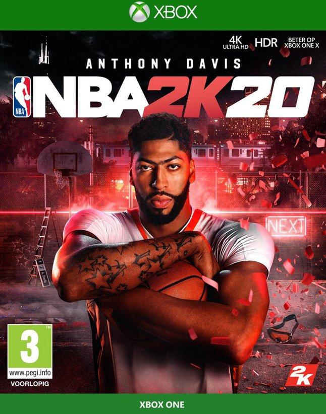 Afbeelding van Xbox One NBA 2K20 ENG/FR from ColliShop