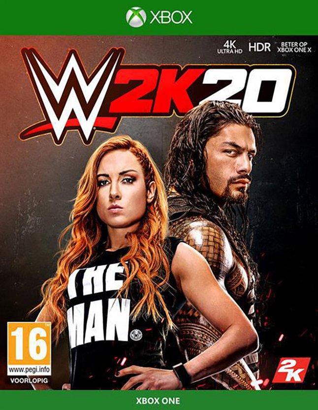 Image pour Xbox One WWE 2K20 FR/NL à partir de ColliShop