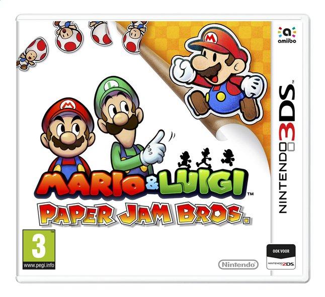 Image pour Nintendo 3DS Mario & Luigi: Paper Jam Bros. NL à partir de ColliShop