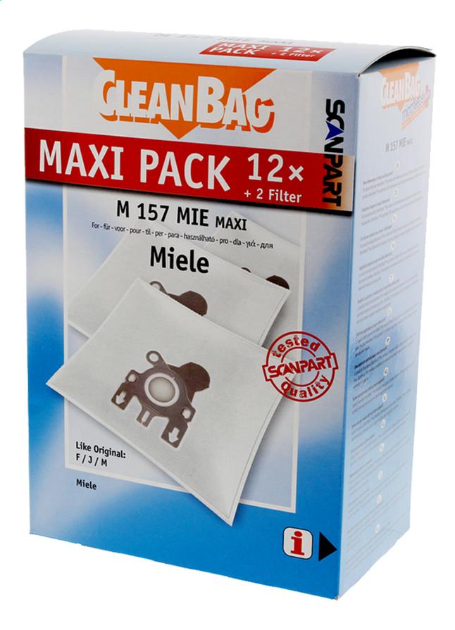 Scanpart Sacs à poussière CleanBag Maxipack Miele FJM - 12 pièces