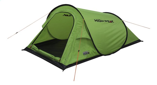 High Peak Tente pop-up Campo lime