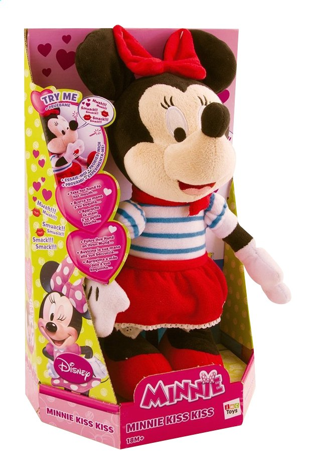 Image pour Peluche interactive Minnie Mouse kiss kiss à partir de ColliShop