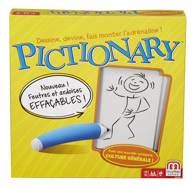 Image pour Pictionary à partir de ColliShop