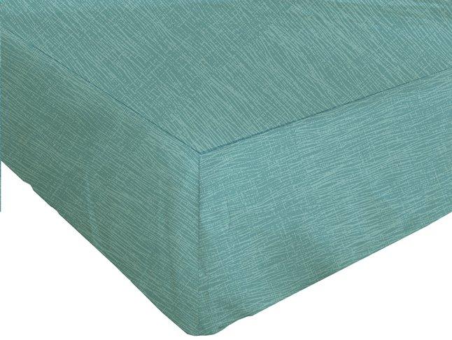 Image pour Origin Drap-housse Alize turquoise lyocell/coton 140 x 200 cm à partir de ColliShop