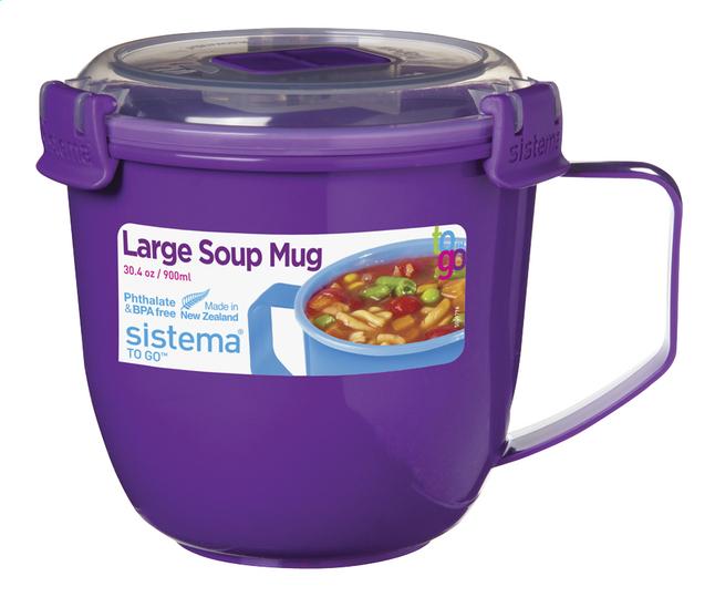 Afbeelding van Sistema Soepbeker To Go Large Soup Colour 900 ml from ColliShop
